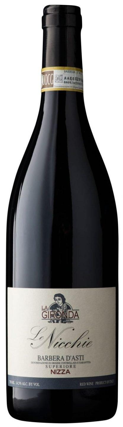 """La Gironda - Barbera d'Asti Superiore Nizza DOCG """"Le Nicchie"""" 2015"""