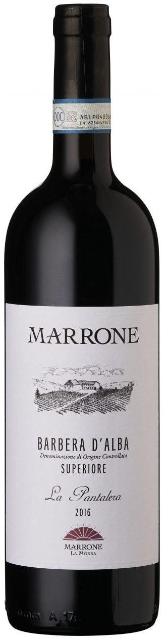 "Marrone - Barbera d'Alba DOC Superiore ""La Pantalera"" 2017"