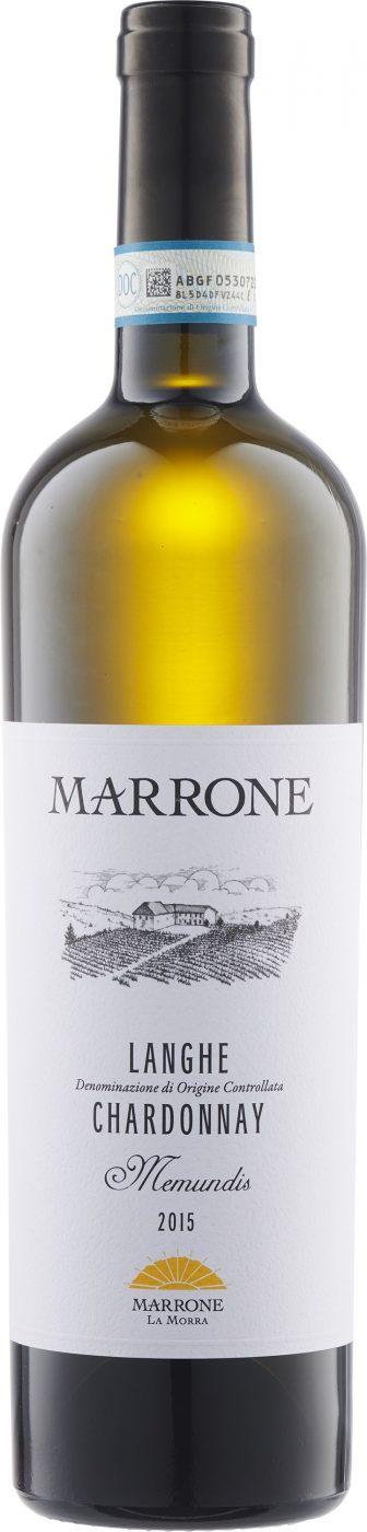 """Marrone - Langhe Chardonnay """"Memundis"""" 2015"""