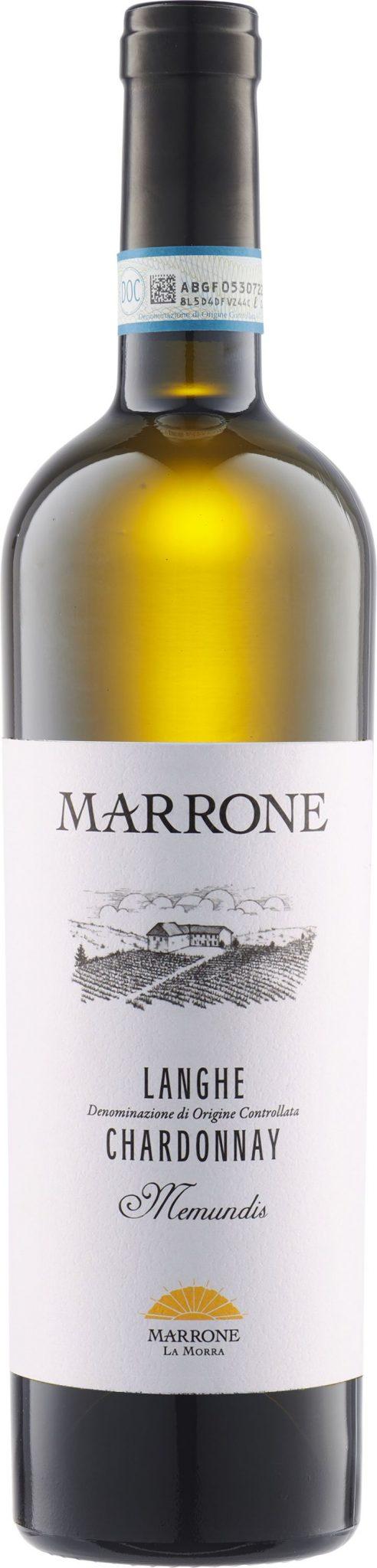 """Marrone - Langhe Chardonnay """"Memundis"""" 2019"""
