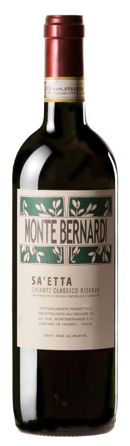 """Monte Bernardi - """"Sa'etta"""" Chianti Classico Riserva 2017"""