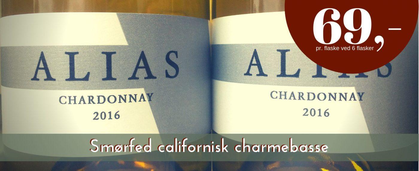 Alias - Chardonnay 2016