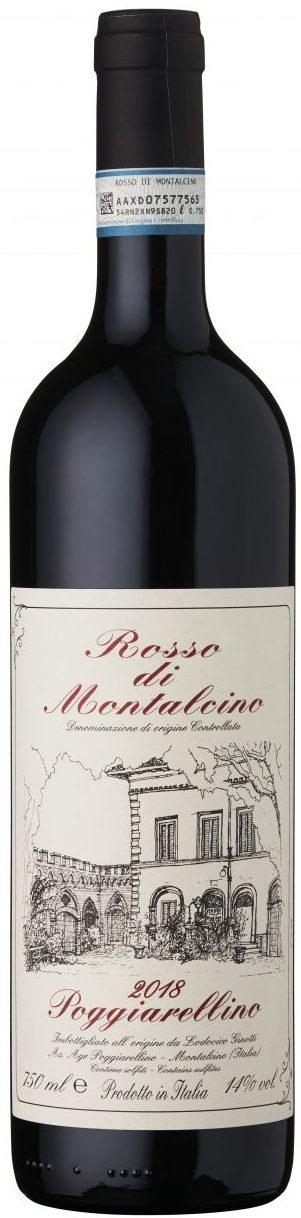 Poggiarellino - Rosso di Montalcino DOC 2018